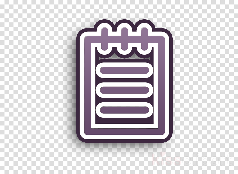 Memo icon interface icon Notebook icon clipart.