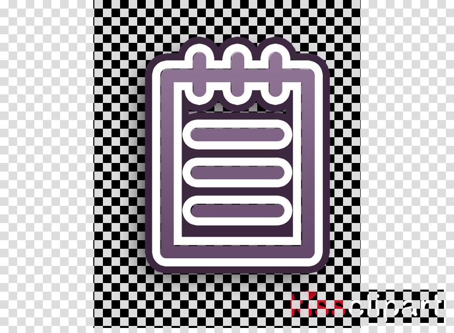 Memo icon interface icon Notebook icon clipart.