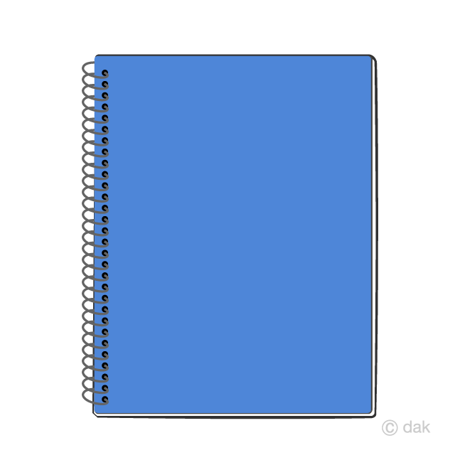 Free Notebook Clipart Image|Illustoon.