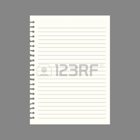 93,042 Notebook Paper Stock Vector Illustration And Royalty Free.