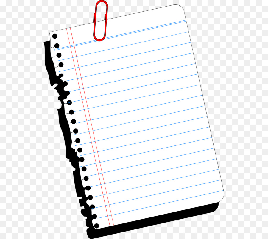 Notebook Page png download.