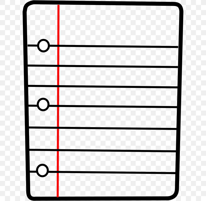 Paper Notebook Free Content Clip Art, PNG, 640x800px, Paper.
