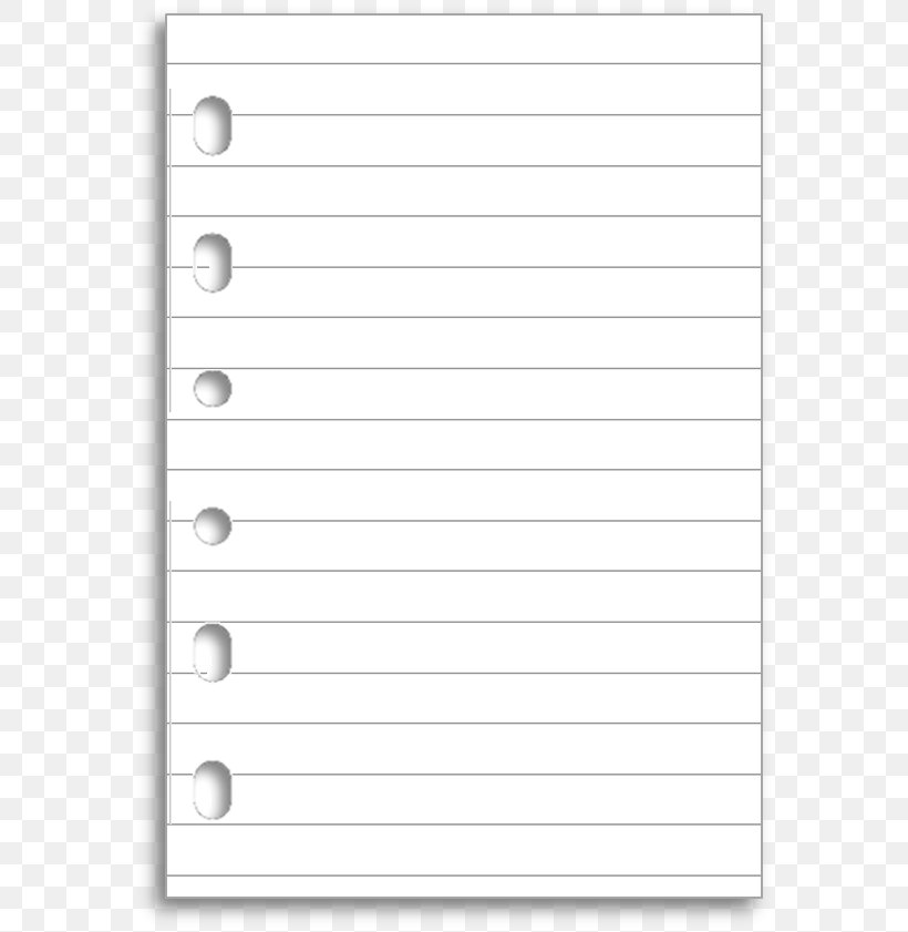 Ruled Paper Notebook Filofax Diary, PNG, 582x841px, Paper.