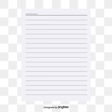 Notebook Paper Png, Vector, PSD, and Clipart With.