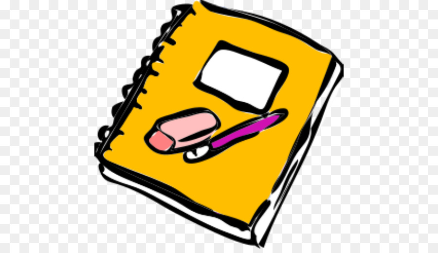 Pen And Notebook Clipart.