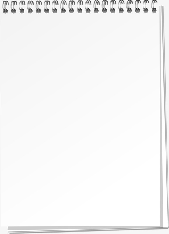 White Notepad, White, , Note PNG Transparent Image and.