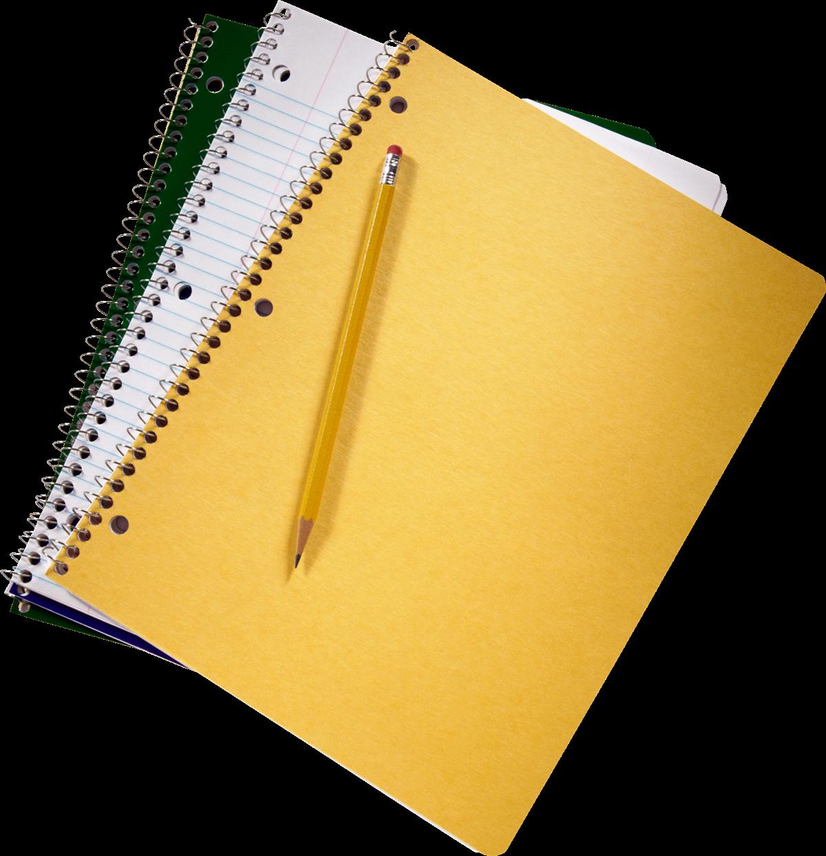 Notebook PNG Transparent File.