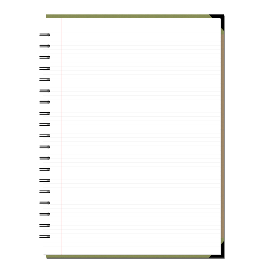 Notebook PNG images free download.