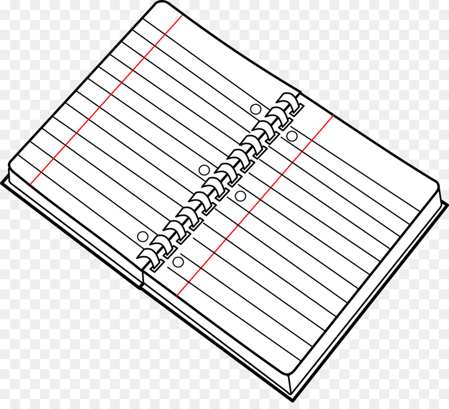 2993 Notebook free clipart.