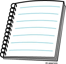 Writing Notebook Clipart#2000083.