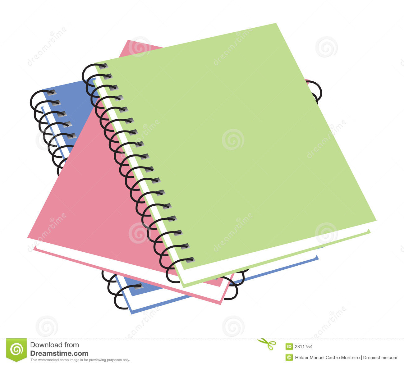 Notebooks clipart.