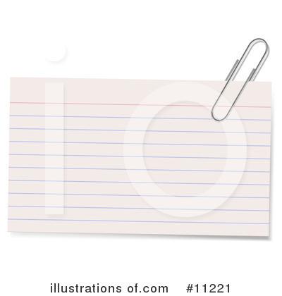 Notecard Clipart #11219.