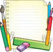 Notepad Clipart.