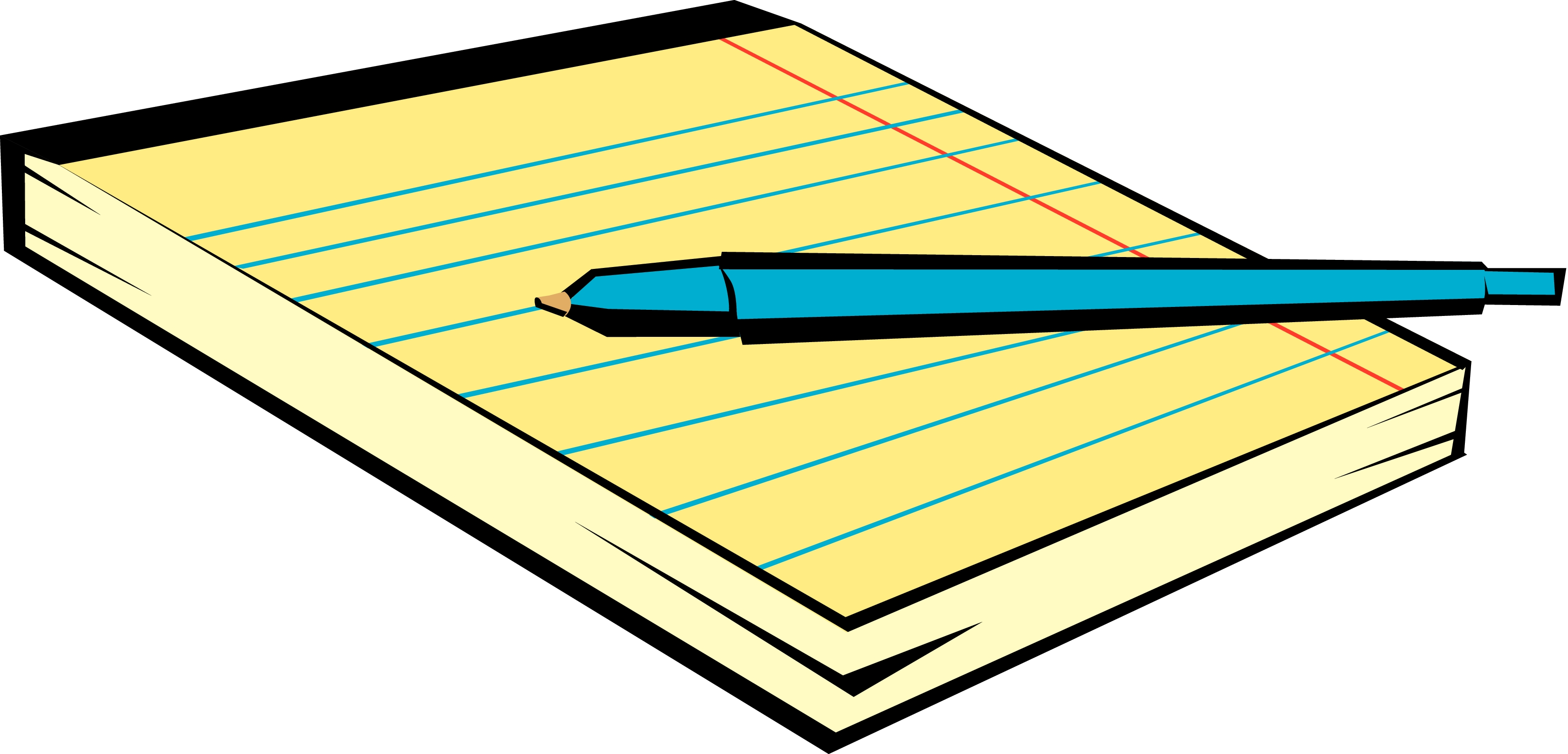 Notepad Clipart & Notepad Clip Art Images.