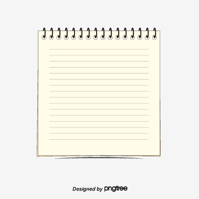 Notepad Png, Vector, PSD, and Clipart With Transparent.