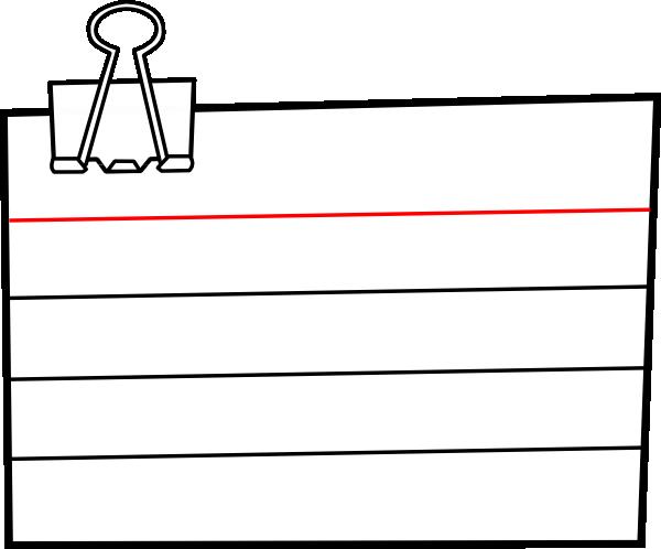Notepad Transparent Clipart.