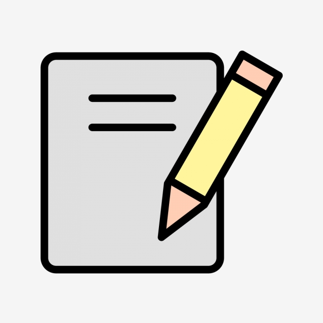 Vector Notes Icon, Document, Notes, Office PNG and Vector.