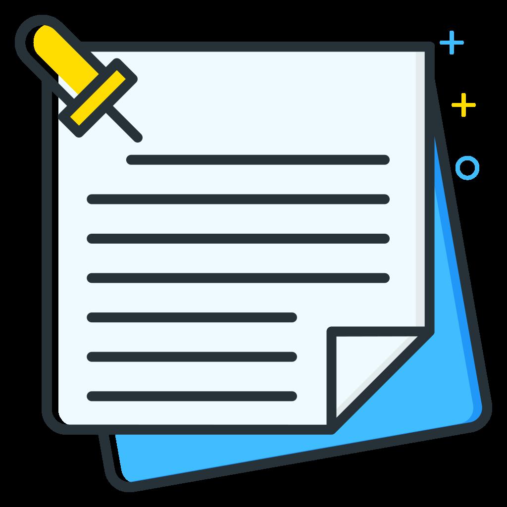 Notes Icon.