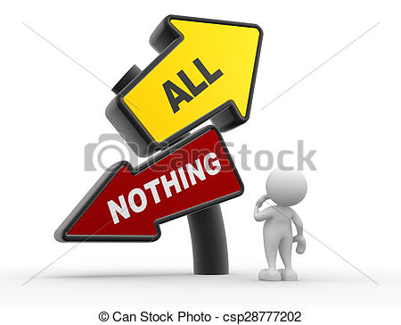Everything nothing Stock Illustration Images. 46 Everything.