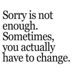 Actions speak louder then words.