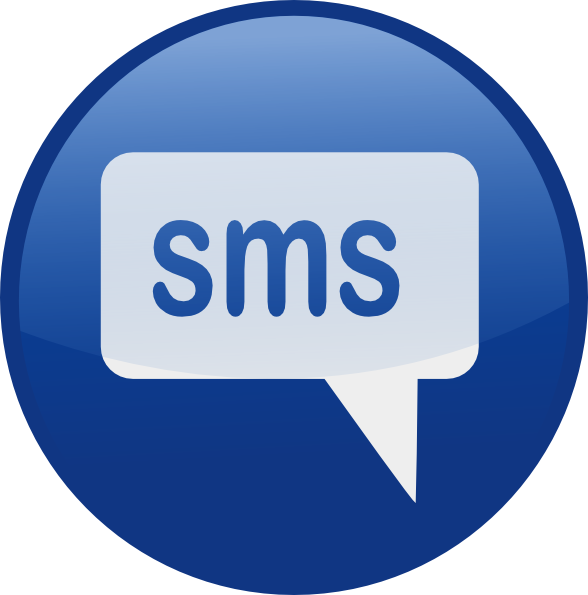 Text Notification Clipart.
