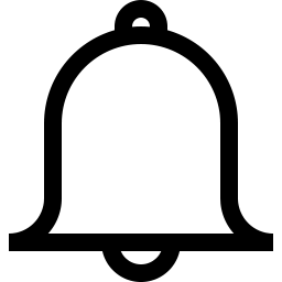 Notification Icon Outline.