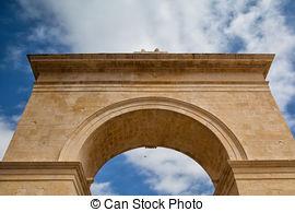 Stock Photos of Porta Nazionale Noto Sicily.