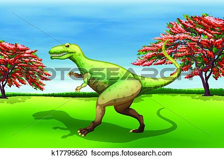 Giganotosaurus clipart.