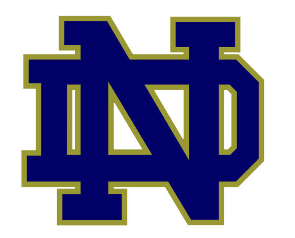 Notre Dame Football Clipart.