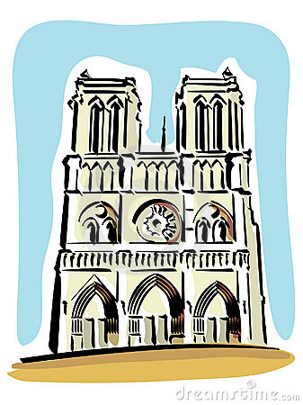 Notre Dame Clip Art.