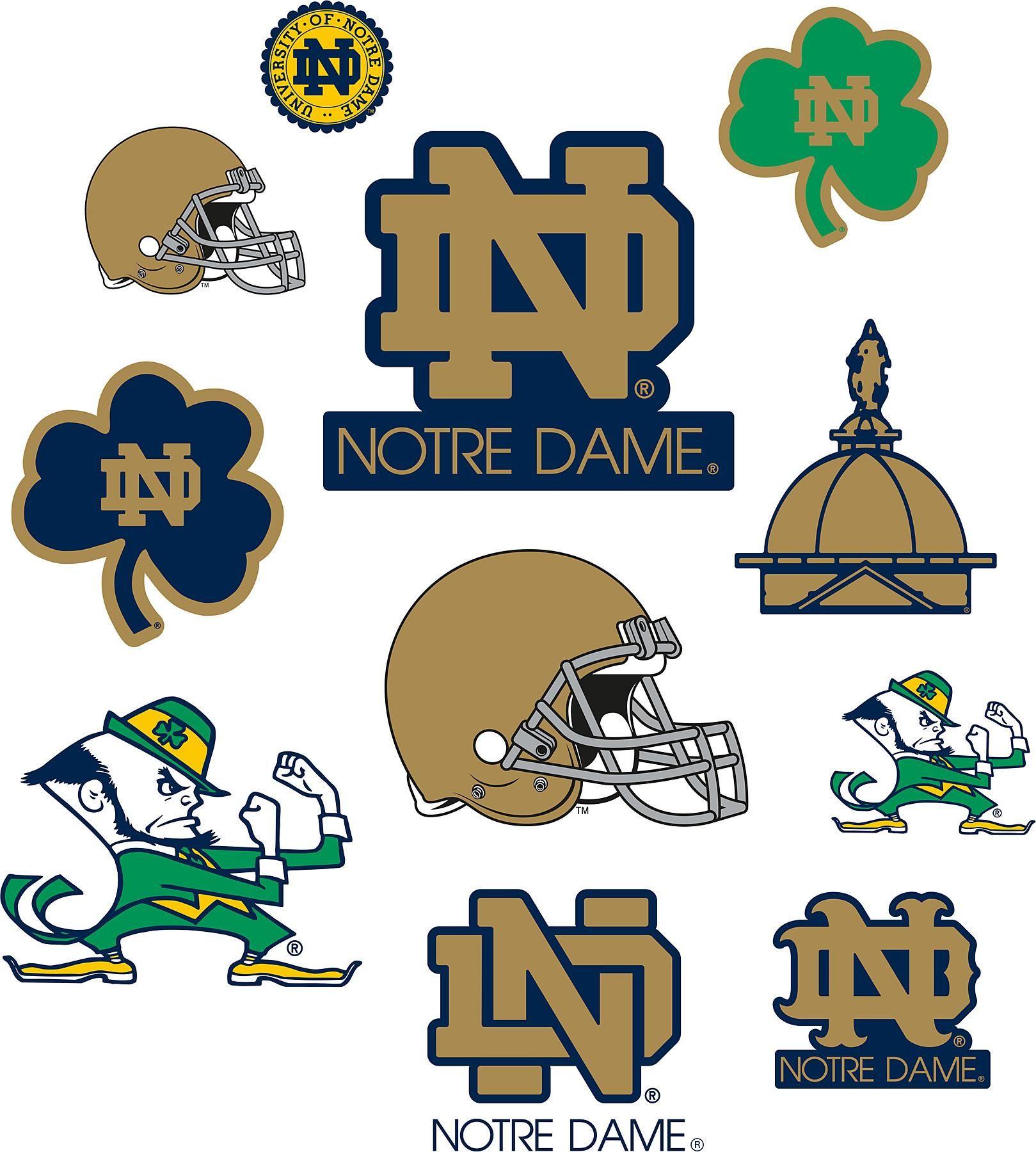 Notre Dame Logo Art.