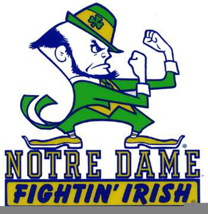 University Of Notre Dame Clipart.
