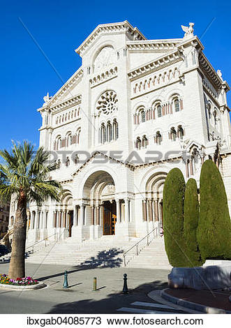 Stock Photo of Saint Nicholas Cathedral, Cathedrale Notre.