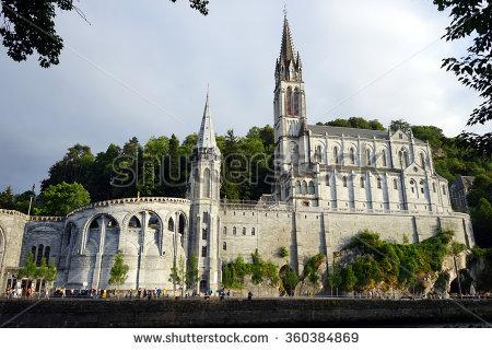 Lourdes Pilgrimage Stock Photos, Royalty.