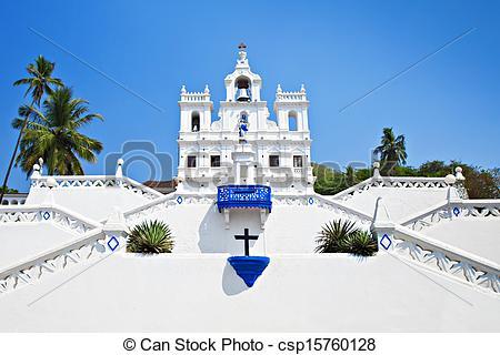 Photo de dame, notre, conception, immaculé, église.