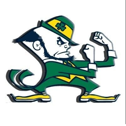 Kansas town bows to Notre Dame on mascot.