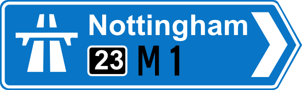 Nottingham Road Signs Clip Art at Clker.com.