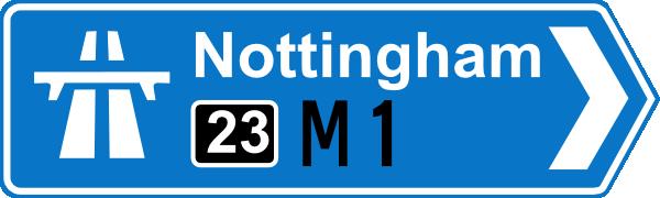 Nottingham Road Signs Clip Art at Clker.com.