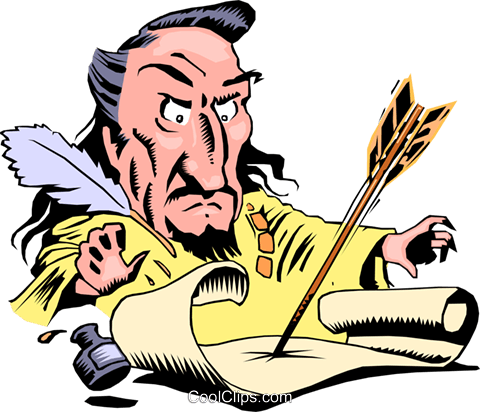 Cartoon Sheriff of Nottingham Royalty Free Vector Clip Art.