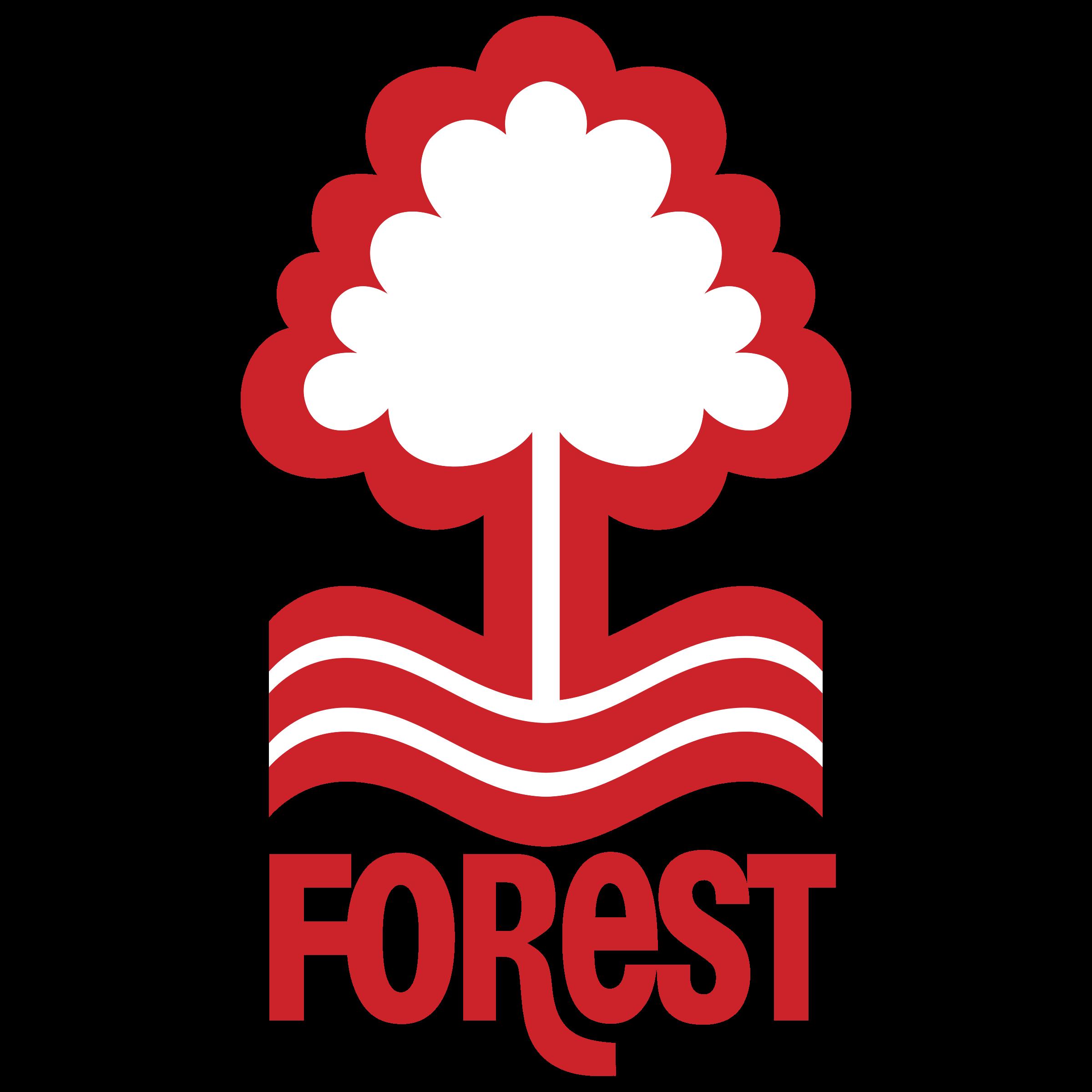 Nottingham Forest FC Logo PNG Transparent & SVG Vector.