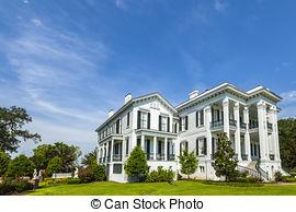 Stock Photography of historic Nottoway plantation in Louisiana.