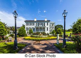 Stock Photos of historic Nottoway plantation in Louisiana from.