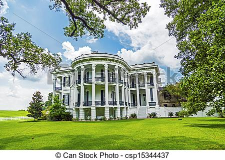 Stock Photos of historic Nottoway plantation in Louisiana from.