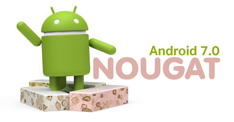 Android 7.0 Nougat is here.
