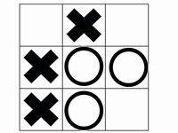 Noughts and Crosses Template.