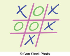 Noughts and crosses Illustrations and Clipart. 107 Noughts and.