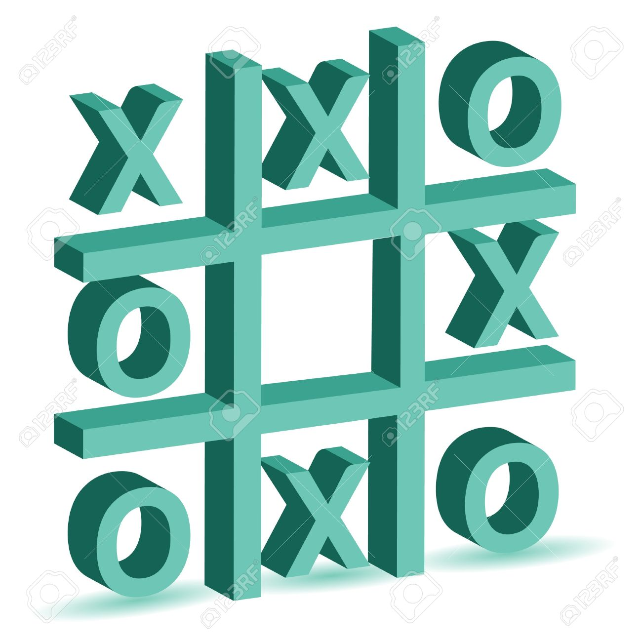 Noughts And Crosses Game Royalty Free Cliparts, Vectors, And Stock.