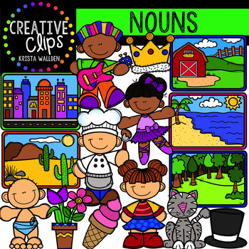 Noun Clipart {Creative Clips Digital Clipart}.