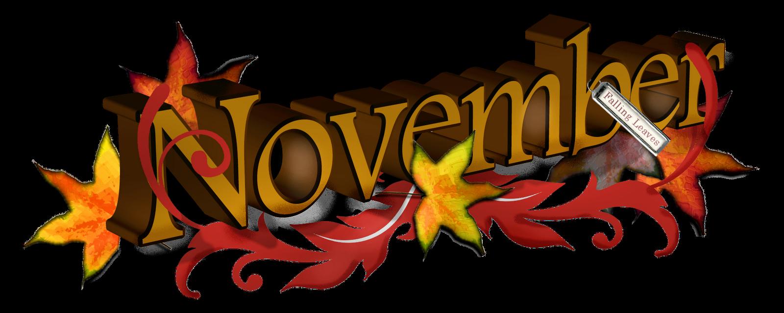54 Free November Clipart.
