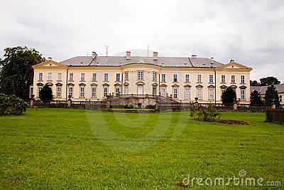 Castle Nove Hrady Stock Image.